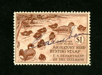 US Stamps # RW7 Superb Used.