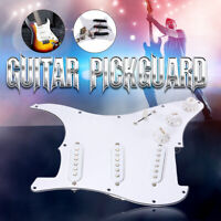 Prewired Loaded SSS Guitar Pickguard Alnico V Pickups For Fender Strat Guitar