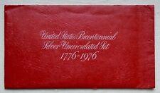 1776-1976S U.S. BICENTENNIAL SILVER UNCIRCULATED 3-COIN SET