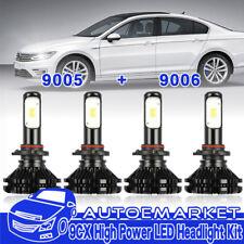 9005 9006 LED Headlight Conversion Combo Bulbs Kit For Acura Integra Legend CL