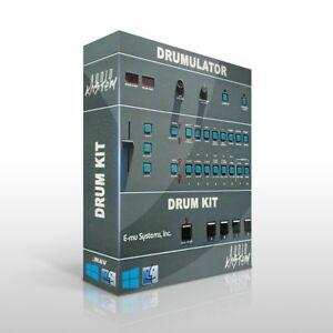 E-MU Drumulator Drum Kit Samples MPC Maschine Sounds DOWNLOAD Trap Hip Hop WAV