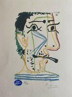 Pablo Picasso | LE GOUT DU BONHEUR. High Quality Lithograph