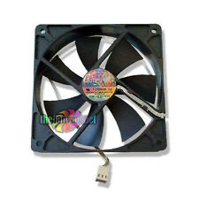 "SilenX Ixtrema Pro Series ""Silent"" 120mm x 25mm Case Fan + Mounting Screws NEW!"
