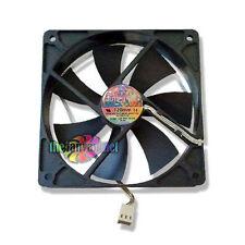 """SilenX IXTREMA Pro Series 120mm x 25mm """"Silent"""" fan Includes Rubber Fan Mounts"""