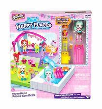 Shopkins feliz lugares Baño Bunny Conjunto de Juego Muñeca bubbleisha paquete de bienvenida