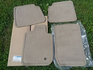 GENUINE FORD 2C5Z-1613086-CAA 2003 2004 LINCOLN AVIATOR FLOOR MATS TAN SET/4 NEW