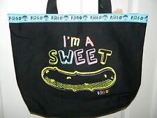 NWT Nickelodeon FRED I'm A SWEET SOUR Pickle Tote Shoulder BAG* New