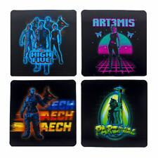 Official Ready Player One 3D Lenticular Drinks Coasters Beer Mats