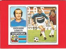 N.303 LODETTI NUOVA SAMPDORIA FIGURINA CALCIATORI PANINI 1972//73