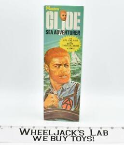 """Sea Adventurer Flocked NICE BOX CANADA Adventure Team 12"""" GI Joe Vintage Hasbro"""