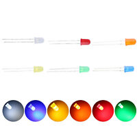 600pcs Mix 6colors 5mm LED White Red Blue Emitting Diodes Lamp Assortment Kit