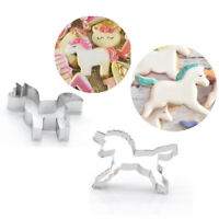 1PC Cookie Cutter Unicorn Biscuits Mold Cartoon DIY Baking Fondant Cake Mould