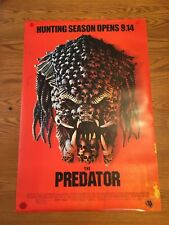 The Predator 2018 Original D/S Movie Poster 27x40 Final One Sheet