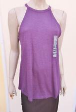 Gap - BNWOT - Dark Purple Jersey Strappy Top - size M