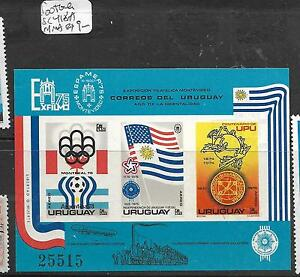 URUGUAY  (PP1803B) SC 418A  OLYMPICS, FOOTBALL  MNH