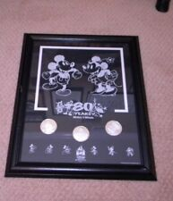 """80 Years Mickey """"n"""" Minnie  archival etched frame."""