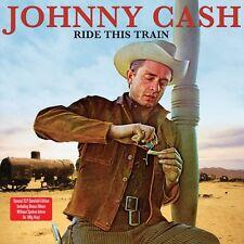 JOHNNY CASH RIDE THIS TRAIN - 2 LP SET VINYL