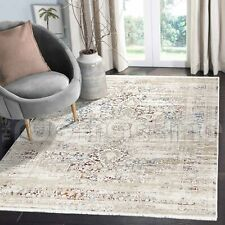 Salcombe Star Medallion Distressed Colourful Transitional Rug - 4 Sizes **NEW**