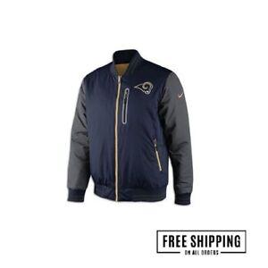St. Louis Rams Mens Nike NFL On Field Jacket Reversible XL NEW Sideline Coat