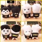 KPOP BTS Wings Plush Toy Doll Bangtan Boys Jung Kook Suga For ARMY Gift Jimin V