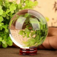 40mm Clear Crystal Ball Transparent Decorative Glass Ball Ornaments Feng Shui