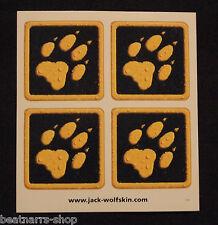 10 x Jack Wolfskin Logo - 4er Set Sticker Aufkleber 9 x 10 cm