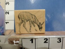 Deer RUBBER STAMP 5M