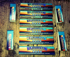 Elements Kingsize Rolling Papers x 6 + 4 packs  tips - UK Seller