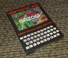 SEALED NEW Timex TS1000/Sinclair ZX81 computer game program software MAZOGS 16K