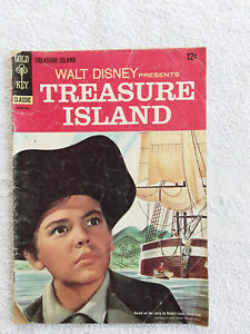 Four Color #624 - Walt Disney's Treasure Island (Apr 1955, Dell) VG