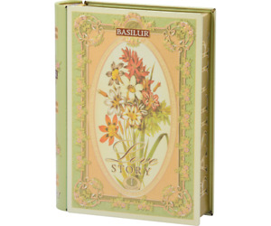 Basilur Pure Ceylon Tea Love Story Series Volume i In A Beautiful Tea Book 100g