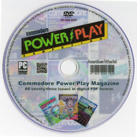 COMMODORE POWER/PLAY MAGAZINE Full Run on Disk (PET/MS-DOS/VIC20/C64/128 Games)