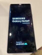 Samsung Galaxy Note 9 Factory Unlocked 128GB Ocean Blue