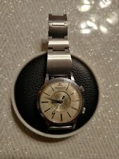 Jaeger. Lecoultre Memovox World Timer Auto All Stainless Steel. Big Size Case...