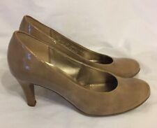 933438070c5eb GABOR 5 NUDE PATENT COURT SHOES WORN ONCE WEDDING RACES EVENING PARTY