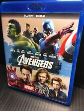 The Avengers Blu-ray 2012 Open Good Captain America Iron Man Hulk Thor Marvel