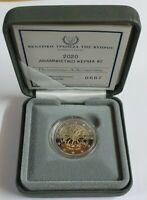 2 Euro Gedenkmünze Zypern 2020  PP im Etui - Neurologisches Institut -