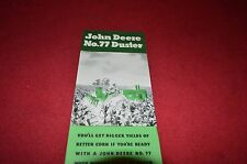 John Deere No. 77 Duster Dealer Brochure DCPA3