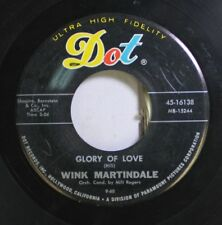 50'S & 60'S 45 Wink Martindale - Glory Of Martindale / I Wanna Play House On Dot