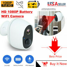 Rechargeable Battery Powered Security Camera Outdoor WiFi Camera Wireless 1080P