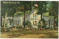 Mammoth Cave Souvenir Shop National Park Cave City Kentucky KY Postcard