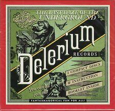 VA The Last Daze Of The Underground - Delerium Records, 3CD Neu