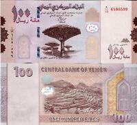 YEMEN / Jemen 100 Rials 2018 (2019) Banknote Papiergeld Asien Bankfrisch UNC Neu
