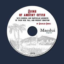 Ruins of ancient cities 1840 byCharles Bucke 2 PDF E-Books on 1 Data DVD
