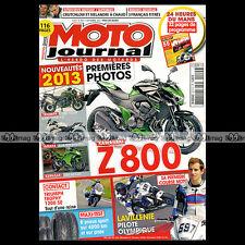 MOTO JOURNAL N°2015-c KAWASAKI 350 BIG HORN TRIUMPH TROPHY 1200 SE BIMOTA DB 10