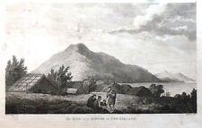 "Eau forte - Benjamin Thomas POUNCY, ""The infide of a Hippah, in New Zeeland."""