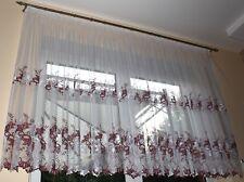 Hochwertiger Gardinen , Vorhang, Stoff , Marquisette , Meterware  , NEU