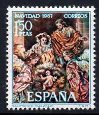 ESPAÑA (1967) NUEVO MNH SPAIN - EDIFIL 1838 NAVIDAD