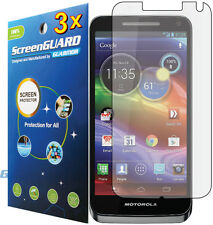 3x Motorola Electrify M XT901 Clear LCD Screen Protector Guard Shield Cover Film