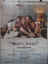Affiche HEART BEAT les premiers beatniks. 120x160 cms. Sissy Spacek, Nick Nolte